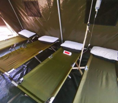 Temporary Medical First Aid Tents
