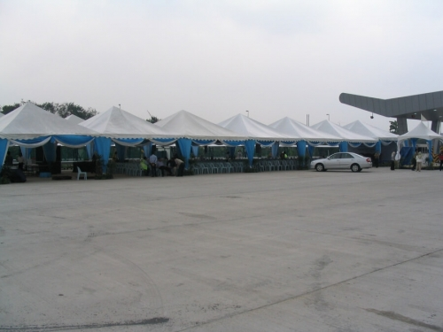 Event and Commercial Pyramid Tent