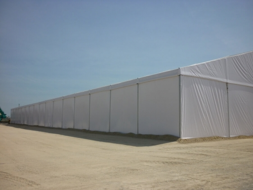 Warehouse Marquee Tent
