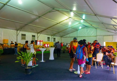 Cafe On The Field by PULSE Group @ Putrajaya Equestrian Park  (FIT Touch World Cup 2019)