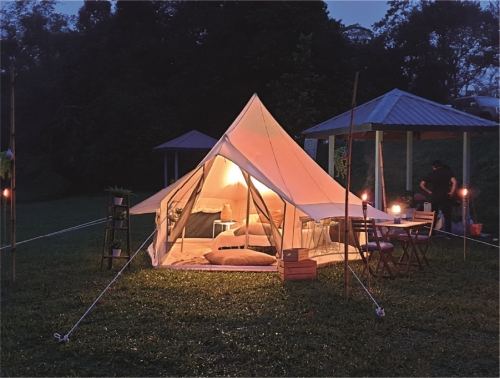 TEGUH Glamping – Bell Tent